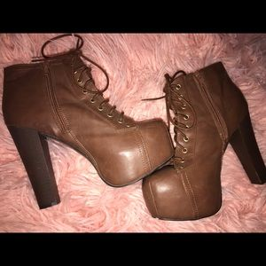 Used once - couple of nicks - size 10